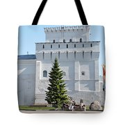 Ancient Tower Tote Bag