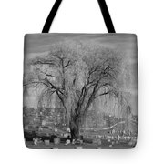 And The Willow Tree Weeps Tote Bag