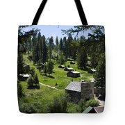 And There You Find Garnet Ghost Town Tote Bag