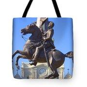 Andrew Jackson Statue Tote Bag