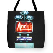Andy's Drive-in Tote Bag