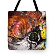 Anewed Antypityped Five Fish Tote Bag