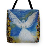Angel Among Us Tote Bag