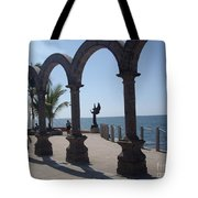 Angel At Puerto Vallarta Tote Bag