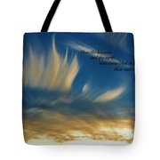 Angel Clouds Tote Bag