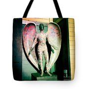 Angel In The City Of Angels Tote Bag