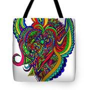 Angel Tote Bag by Karen Elzinga