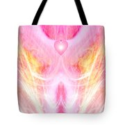 Angel Of Divine Love Tote Bag