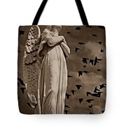 Angel Of Stone S Tote Bag