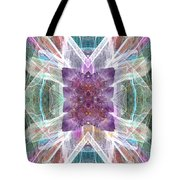 Angel Of The Crystal World Tote Bag