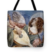 Angel With A Lute Tote Bag by Granger