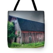 Angelica Barn In Hdr Tote Bag