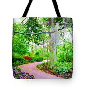 Angels Watch Over You Tote Bag by Susanna  Katherine