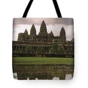 Angkor Wat Temple Reflected Tote Bag