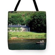 Angling, Delphi Lodge, Co Mayo, Ireland Tote Bag