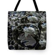 Angry Bubble Mob Tote Bag
