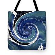 Angry Ocean Tote Bag