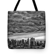 Angry Skies Over Nyc Tote Bag