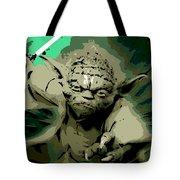 Angry Yoda Tote Bag