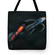 Animal - Fish - Beauty And Grace  Tote Bag