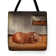 Animal - The Guinea Pig Tote Bag by Mike Savad