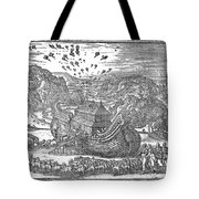 Animals Entering The Ark Tote Bag