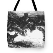 Animals Sick Of The Plague Tote Bag