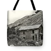 Animas Forks Ink Outline Tote Bag by Melany Sarafis