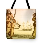 Anne Bonny And Mary Read, 18th Century Tote Bag