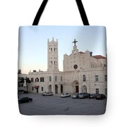Annunciation Latin Church In Beit Jala Tote Bag