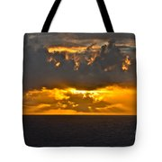 Another Caribbean Sunset Tote Bag