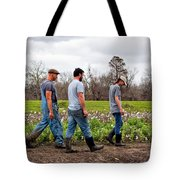 Another Cotton Pickin' Day Tote Bag