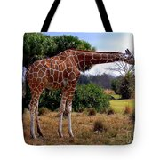 Another Neck Tote Bag