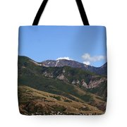 Another View Of Salt Lake City Tote Bag