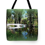 Another White Bridge In Magnolia Gardens Charleston Sc II Tote Bag