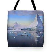 Antarctic Evening Tote Bag