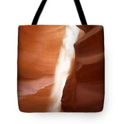 Antelope Canyon - The Mystery Of Nature's Creativity Tote Bag by Christine Till
