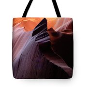 Antelope Canyon Story Of The Rock Tote Bag