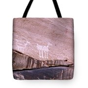 Antelope House Petroglyphs Tote Bag