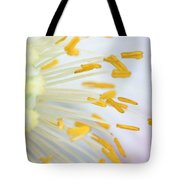 Anthers Of Poppy Flower Tote Bag