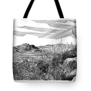 Anthony Gap New Mexico Texas Tote Bag by Jack Pumphrey
