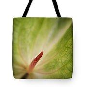 Anthurium Macro Tote Bag