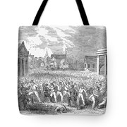 Anti-german Riot, 1851 Tote Bag