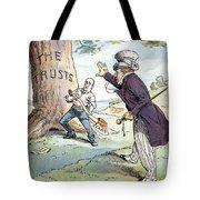 Anti-trust Cartoon, 1904 Tote Bag