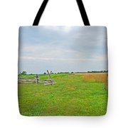 Antietam Battle Of The Cornfield Tote Bag