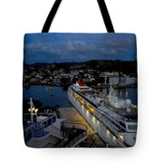 Antigua Dusk Tote Bag