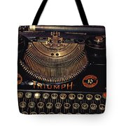 Antiquated Typewriter Tote Bag