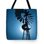 Antique Aermotor Windmill Tote Bag