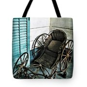 Antique Baby Carriage Tote Bag