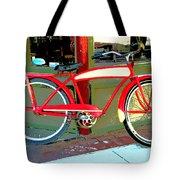 Antique Bicycle Tote Bag